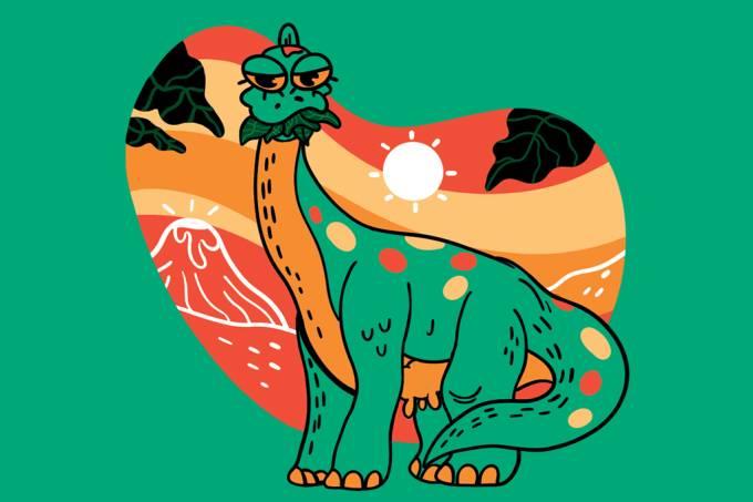 ORCL | Os dinossauros herbívoros pescoçudos eram ruminantes?