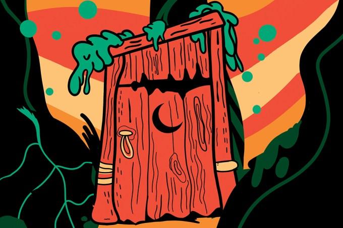 ORCL | Por que os banheiros de desenho animado tem uma lua crescente na porta?