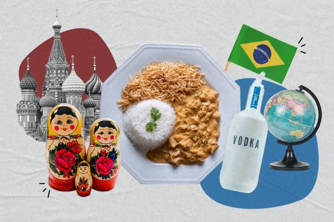 Conexão Brasil-Rússia: conheça a origem do strogonoff