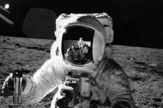 """Vídeos da missão Apollo são """"corrigidos"""" para alta qualidade por AI; assista"""