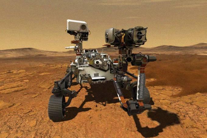 Em nova missão, Nasa vai devolver rocha de Marte que veio parar na Terra