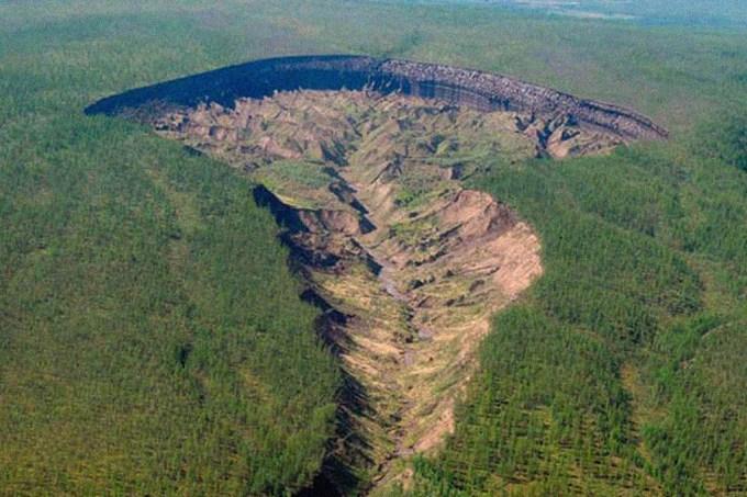 """Aquecimento global amplia """"entrada para o submundo"""" na Sibéria"""