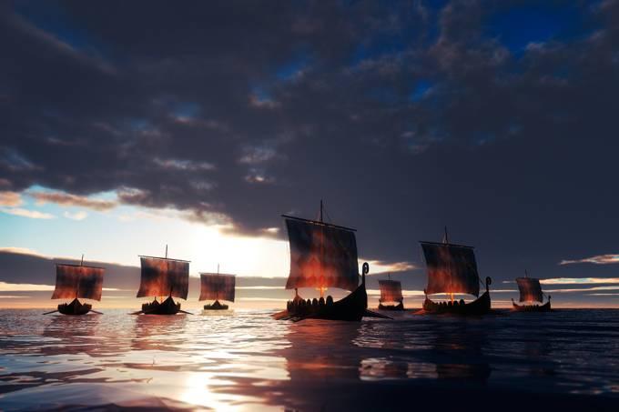 Vikings podem ter sido grandes espalhadores de variola há 1400 anos