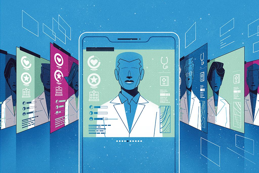 Com as consultas via internet, a tendência de dar nota para o atendimento se amplia. Isso pode mudar de forma radical a relação médico-paciente.
