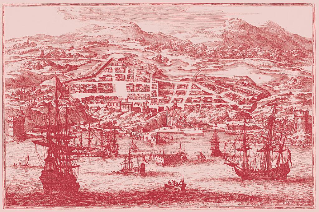 <strong>Lentamente, os europeus distribuíram cidades muradas pela costa, a exemplo de Salvador.</strong>