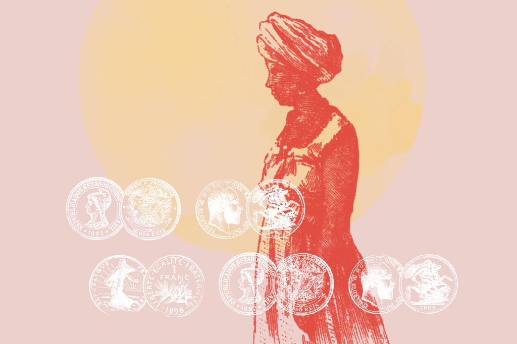 Ilustração de mulher africana