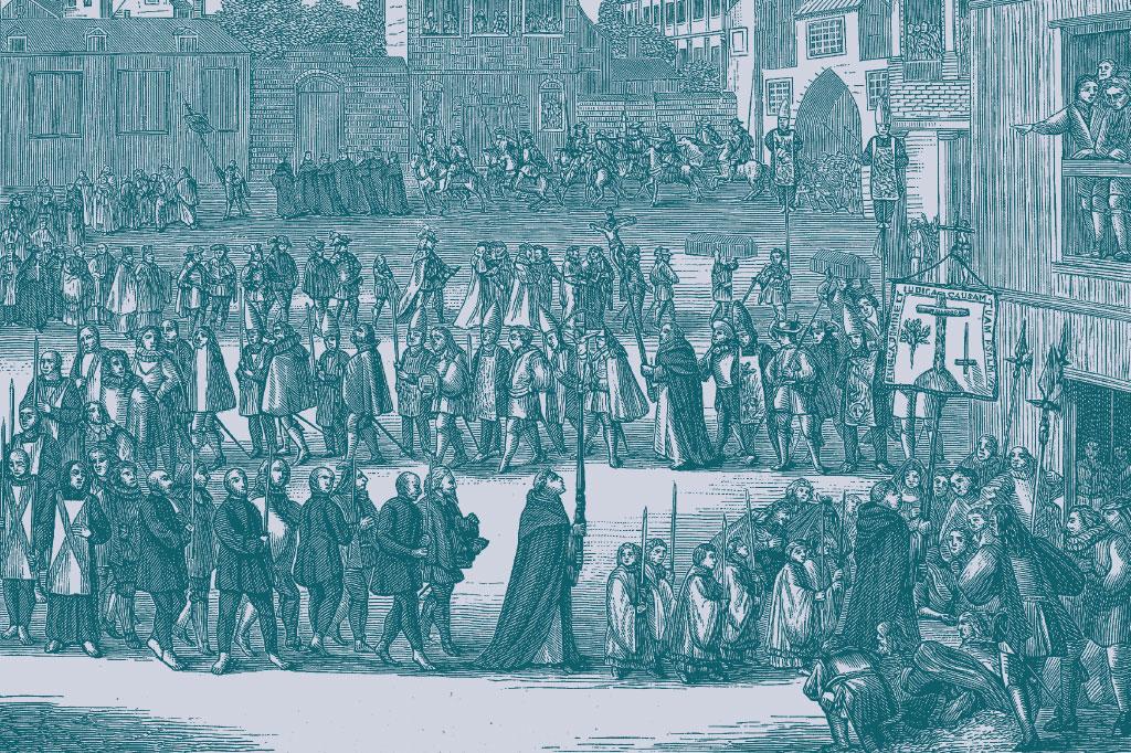 <strong>Santa Inquisição: a Igreja executou o jesuíta Gabriel Malagrida em Portugal, por influência do Marquês de Pombal.</strong>