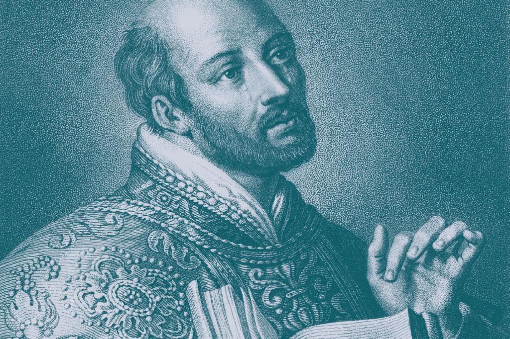 <strong>Inácio de Loyola: o criador da Ordem dos Jesuítas converteu-se à vida religiosa após ser ferido por uma bala de canhão.</strong>