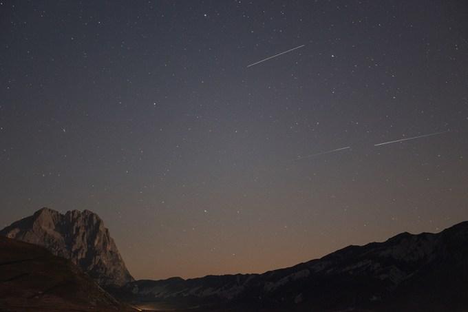 Chuva de meteoros Perseidas poderá ser vista esta semana