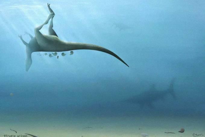 Cientistas descobrem dinossauro parente do T-Rex