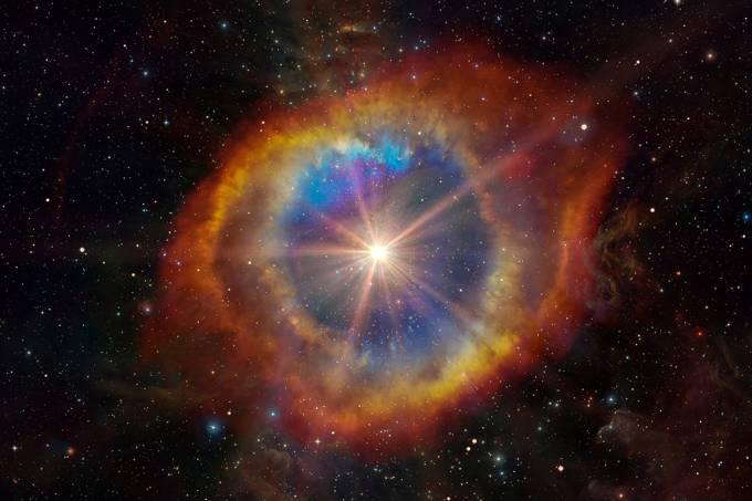 Explosão de estrela distante pode ter influenciado extinção em massa na Terra