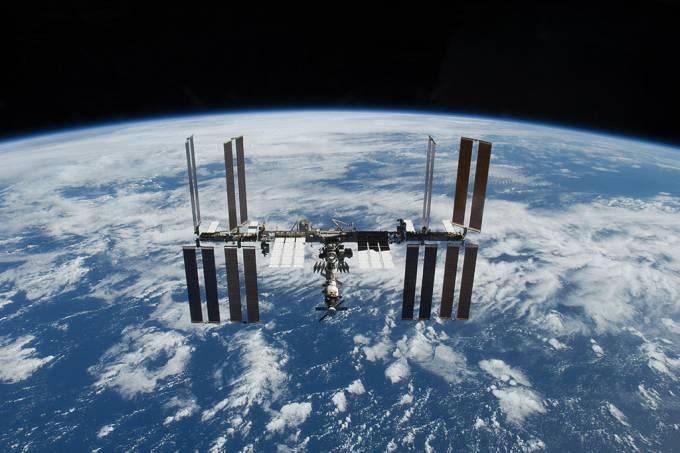 Nasa investiga vazamento de ar na ISS no último fim de semana