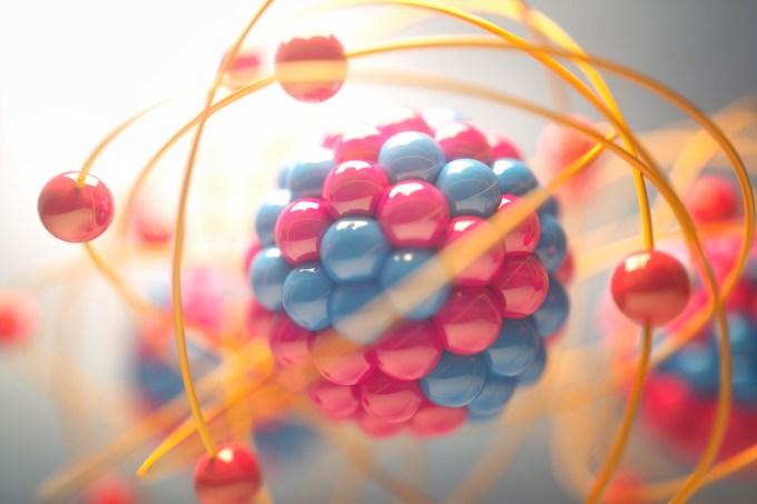 ORCL   Se o elétron é negativo e o núcleo do átomo é positivo, por que o elétron não cai no núcleo?