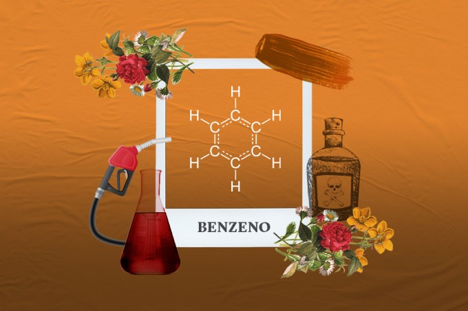 Molécula da Semana: benzeno, o cheiro da gasolina