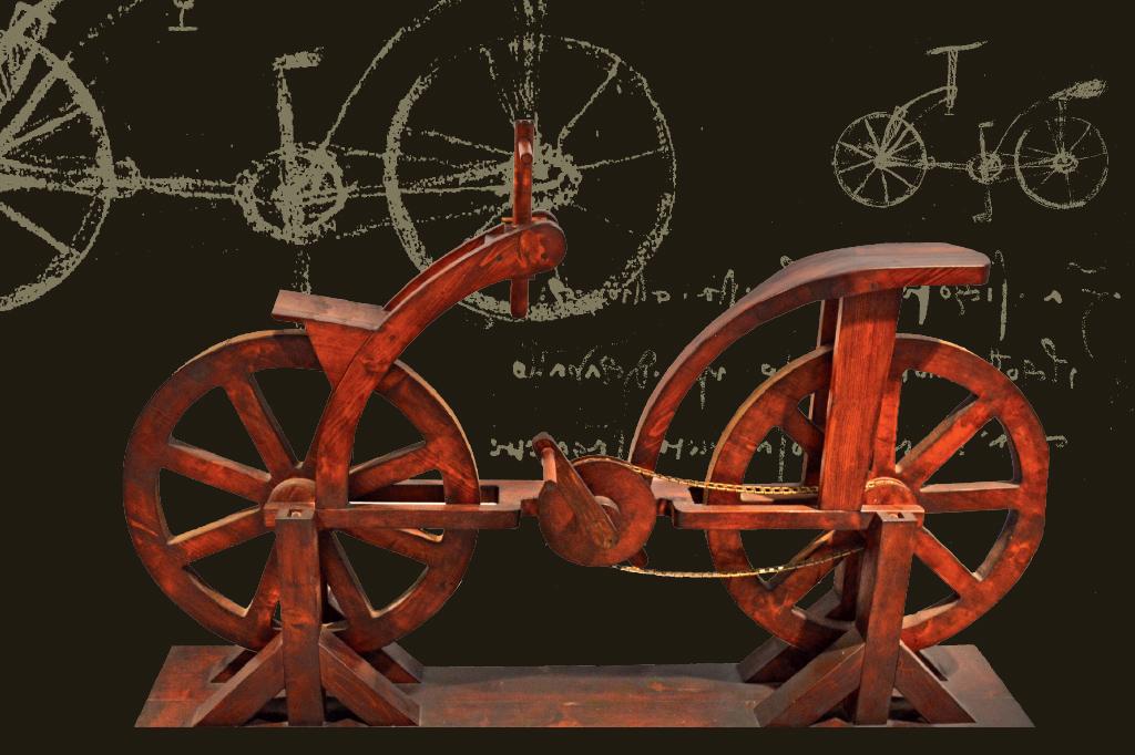 <strong>Augusto Marinoni, da Universidade Católica de Milão, revelou ao mundo o que parecia ser o esboço de uma bicicleta incrivelmente mais moderna que a de Von Drais.</strong>