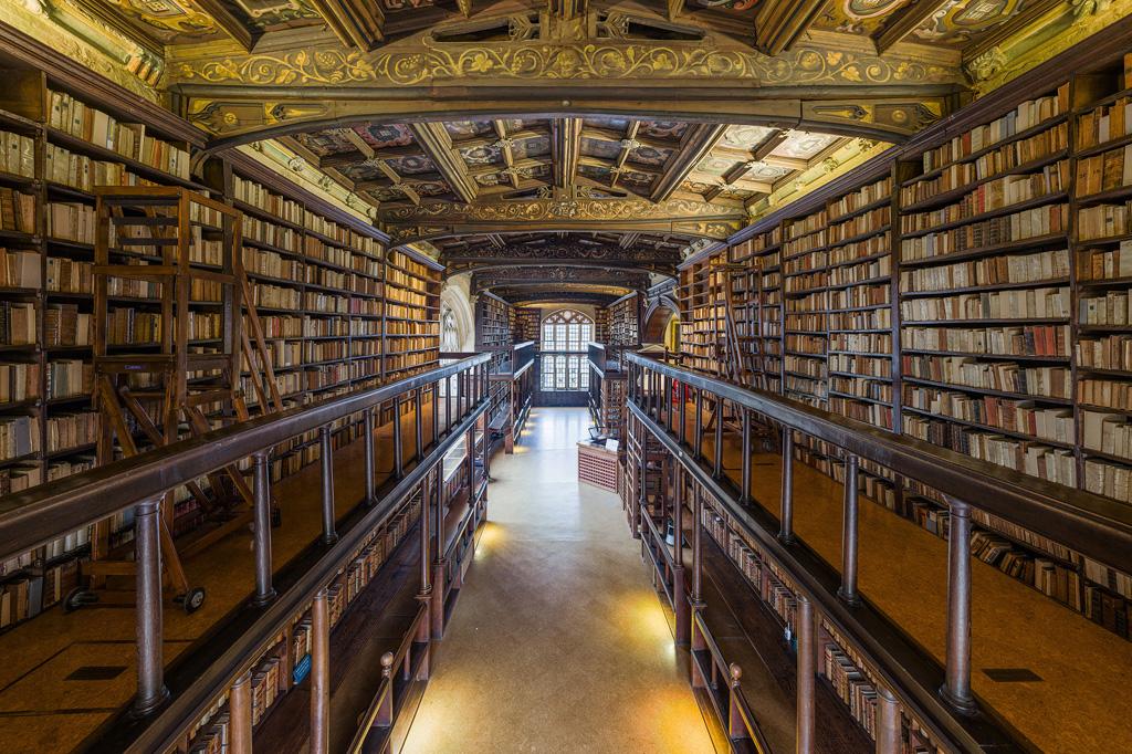 <strong>Tem o maior sistema de bibliotecas do Reino Unido, o Bodleian Libraries, com mais de 100 unidades espalhadas pelo campus e mais de 12 milhões de itens impressos.</strong>