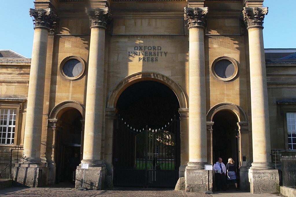 <strong>A Oxford University Press é a maior editora universitária do mundo, com 6 mil funcionários.</strong>