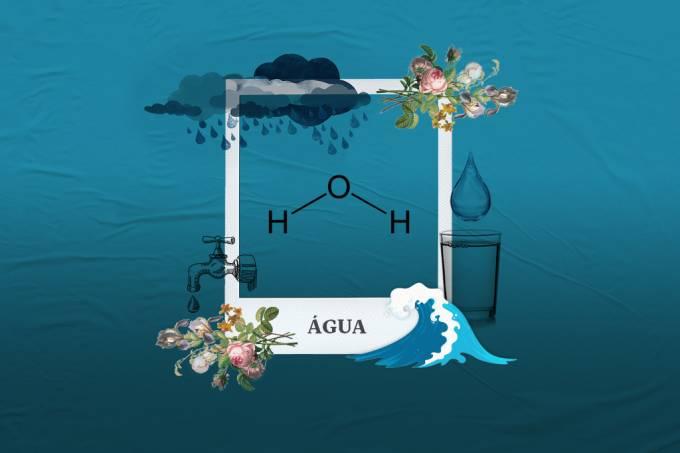 Molécula da semana: água