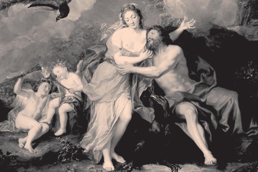 <strong>O Zeus, da mitologia, transou com centenas, entre deusas e mortais. Foi um arquétipo da obsessão masculina por espalhar seu sêmen.</strong>
