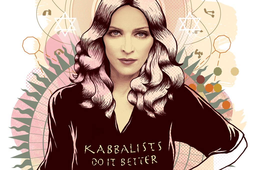 <strong>MUDANÇA – A cantora Madonna disse à imprensa que a cabala havia mudado a sua vida.</strong>
