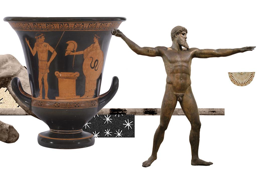 <strong>Os vasos e esculturas revelaram muito do que se sabe sobre a cultura antiga do Mar Egeu.</strong>