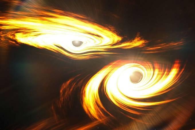 Maior colisão de buracos negros já registrada forma singularidade raríssima de massa intermediária