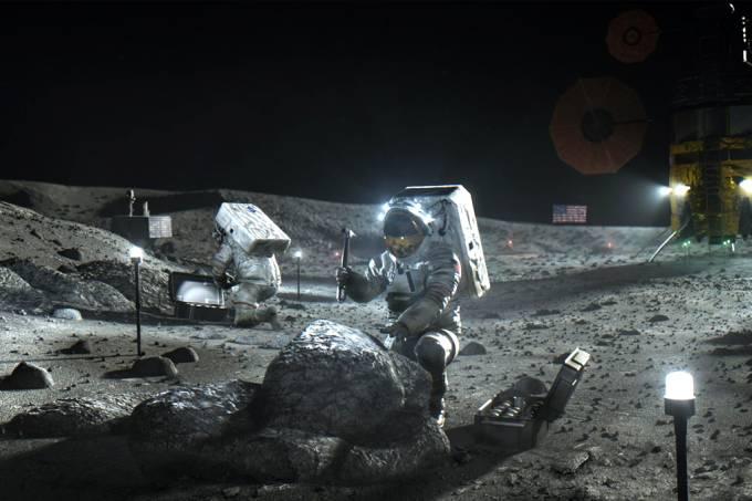 Nasa traça plano para levar primeira mulher à Lua em 2024