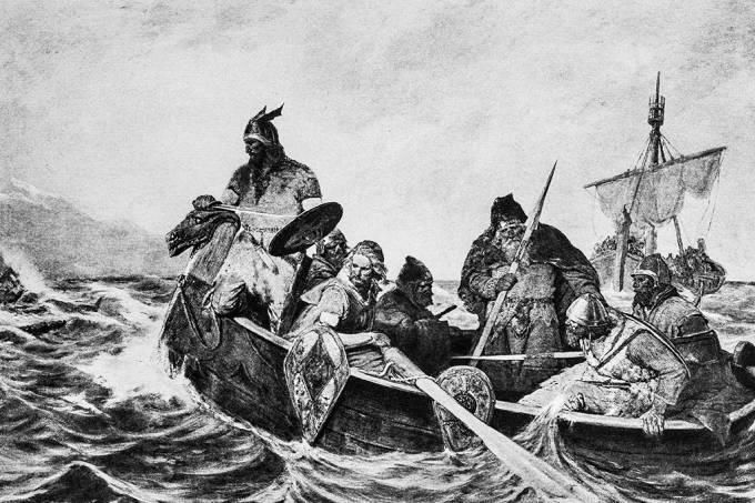 Análise genética mostra que havia Vikings morenos, com genes de várias partes da Europa