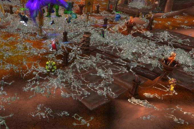 World of Warcraft viveu a primeira pandemia virtual em 2005