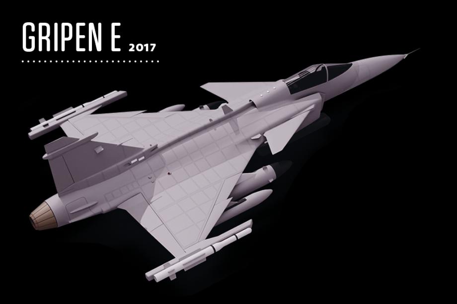 Traz como novidades o sistema Arexis de contramedidas eletrônicas (ECM), cujas antenas emitem sinais falsos para desorientar radares inimigos, e o cockpit com tela multifuncional.