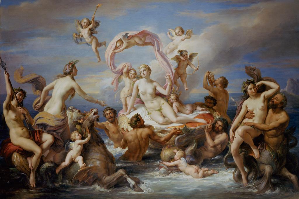 <strong>Não há homens nem o mais poderoso deus que permaneçam imunes aos encantos de Afrodite.</strong>
