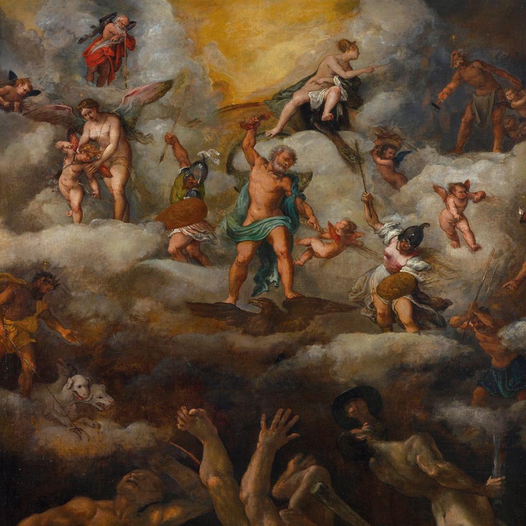 <strong>A luta entre deuses e titãs dura milhares de eras.</strong>