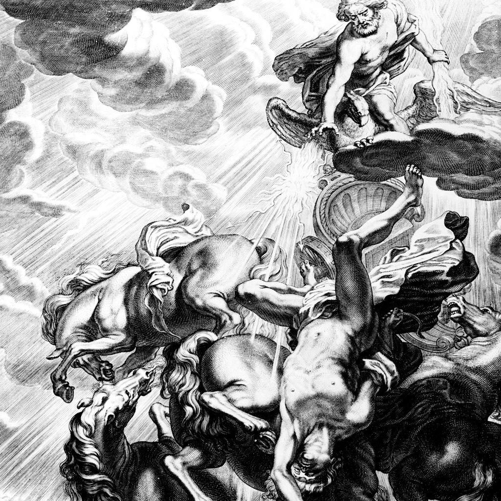 <strong>Ao libertar seus tios monstruosos presos no Tártaro, Zeus ganha deles a que será sua grande arma: o relâmpago, um feixe de luz e fogo.</strong>