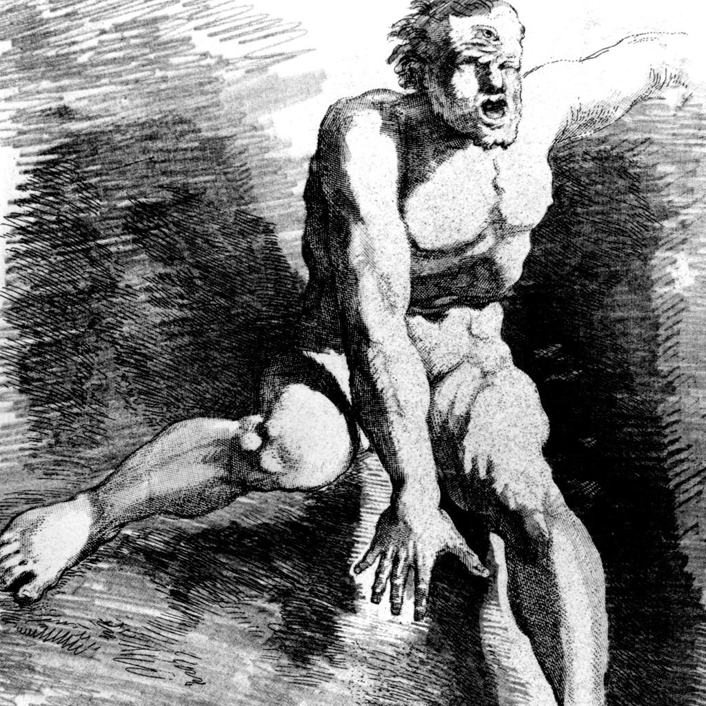 <strong>Figuras gigantescas e brutais, os ciclopes tinham um único olho no meio da testa.</strong>