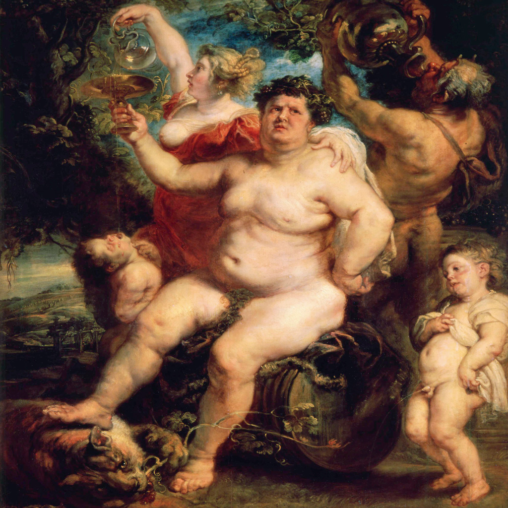 <strong>Dionísio é criado como menina para escapar da perseguição de Hera. Adulto, descobre a cultura do vinho.</strong>