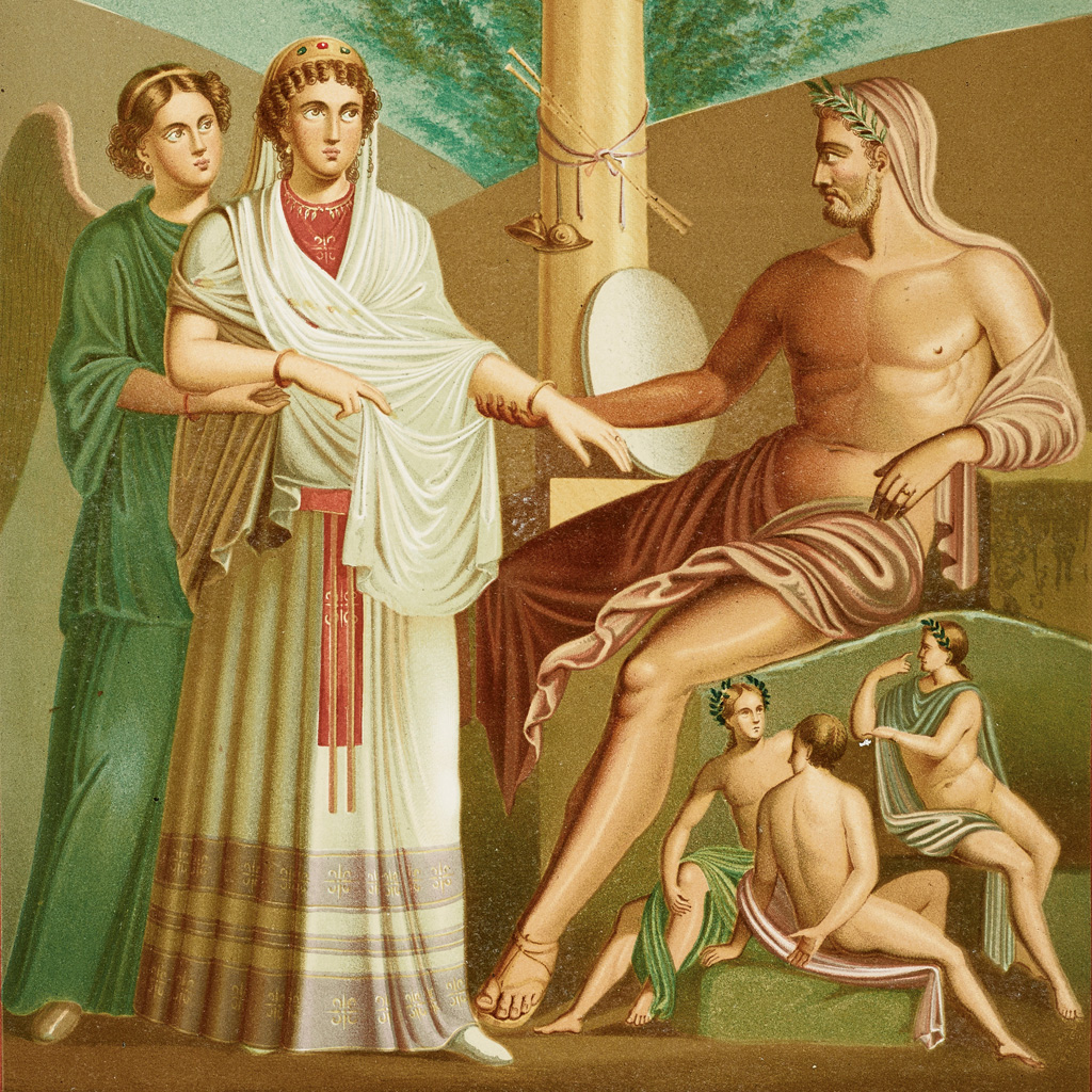 <strong>O casamento de Hera com seu irmão, Zeus, é um ato de reparação após o estupro incestuoso.</strong>