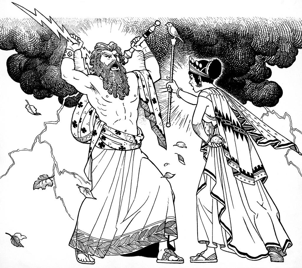 <strong>Na mitologia machista da Grécia, Hera é a esposa chata que não deixa o marido se divertir.</strong>