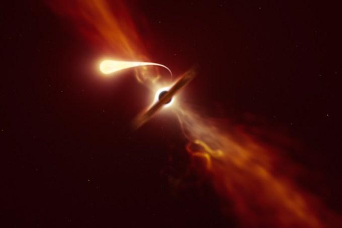 Espaguetificação.mp4: assista a uma estrela sendo devorada por um buraco negro
