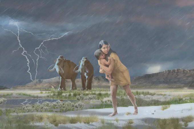 A história por trás da maior trilha de fósseis de pegadas já encontrada