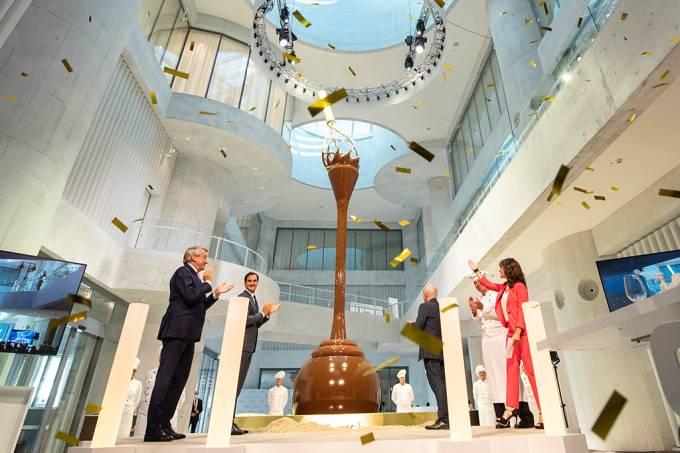 Lindt abre maior museu de chocolate do mundo na Suíça