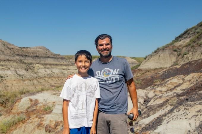 Dinossauro descoberto por menino no Canadá