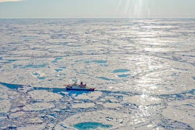 Depósitos de metano no Ártico começam a liberar o gás