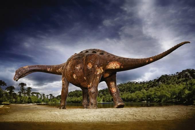 Pesquisadores brasileiros encontram fósseis de parasitas em ossos de dinossauros