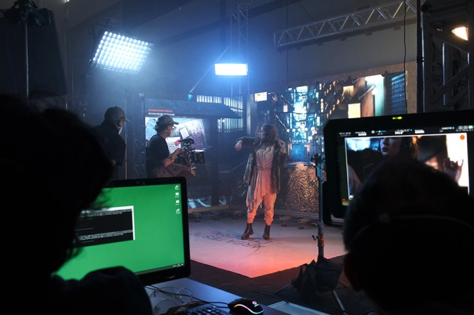 Visita ao set de filmagens adaptado à pandemia
