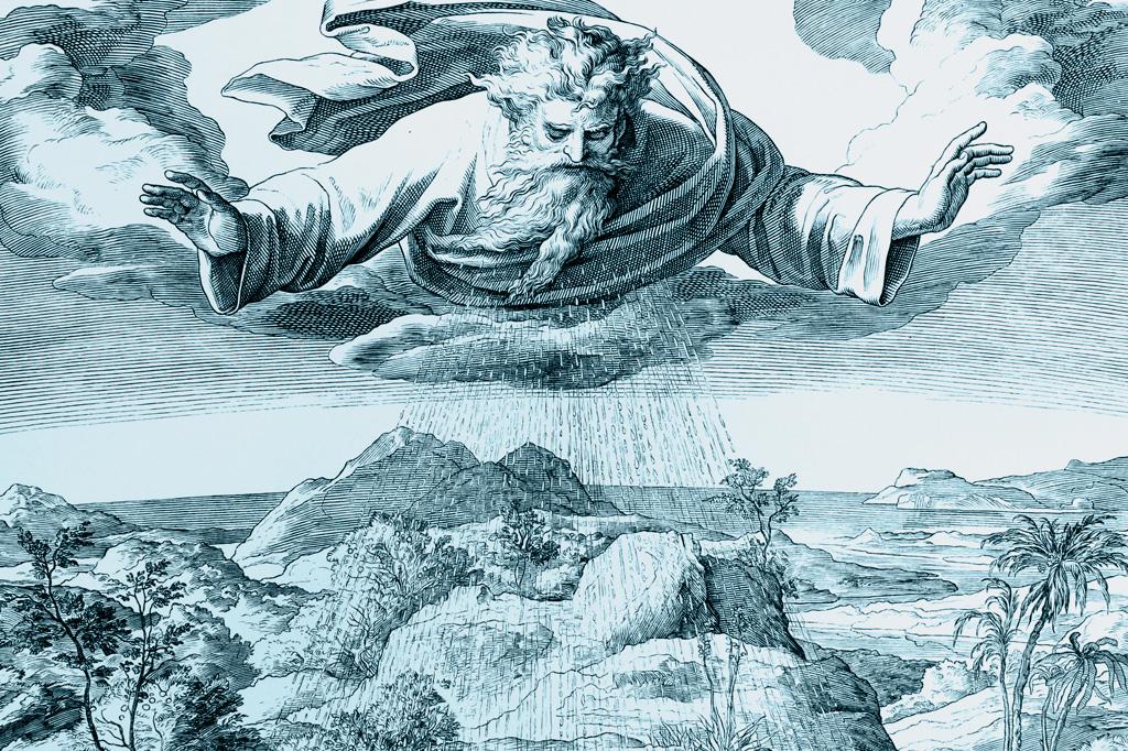 <strong>Uma visão ingênua sobre a ação de Deus: o Criador lança a chuva sobre a Terra.</strong>