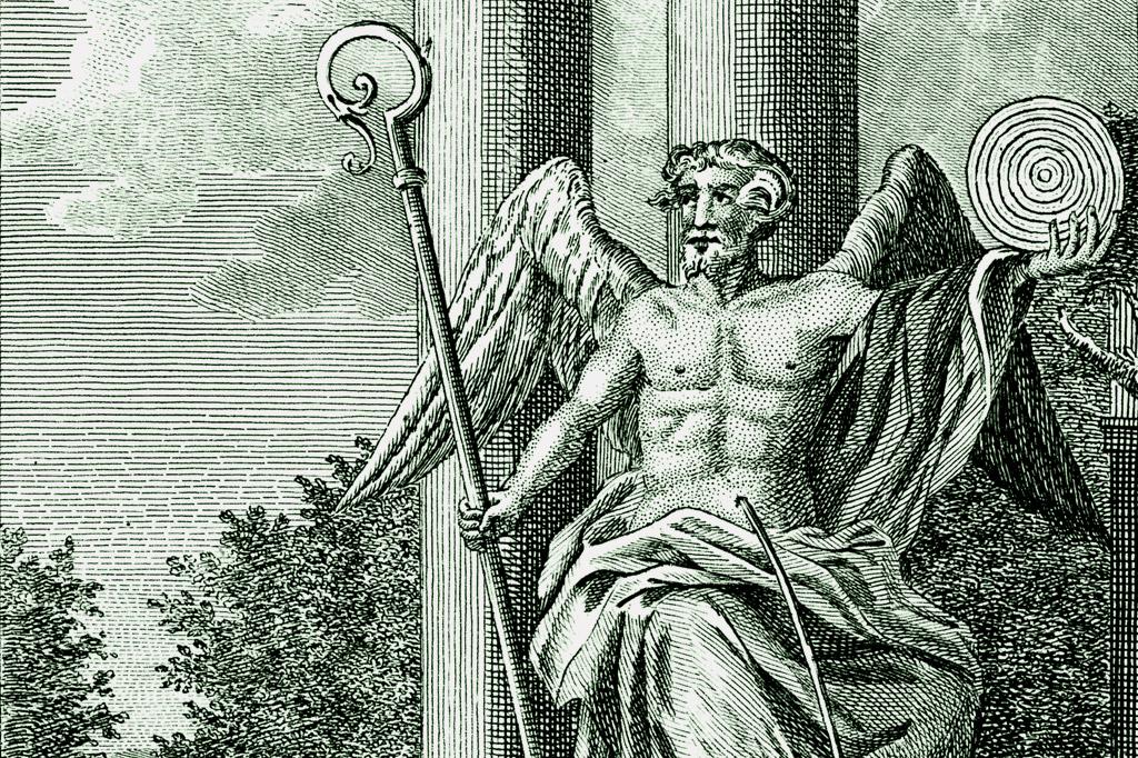 <strong>Baal, deus das tempestades dos cananeus, em representação mais romantizada.</strong>