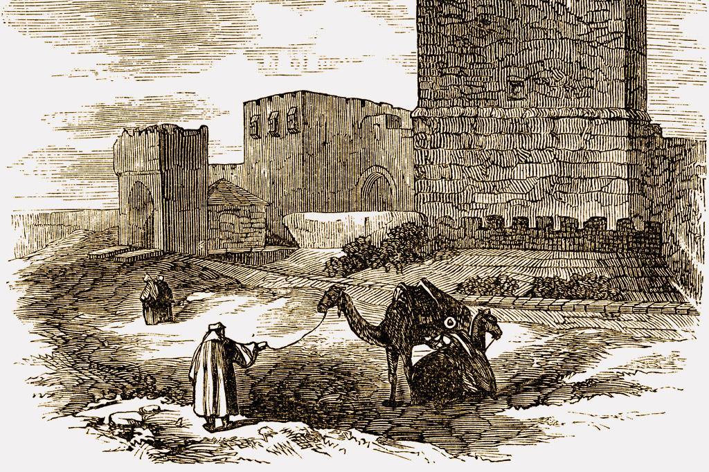 <strong>Jerusalém retratada em imagem do século 19, antes de se modernizar.</strong>