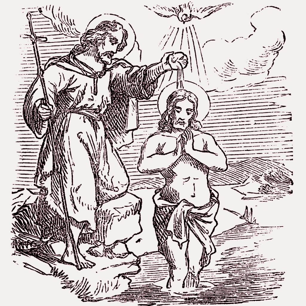 <strong>Batismo de Jesus: cena coloca Cristo em posição inferior e, por isso, deve ter acontecido mesmo.</strong>