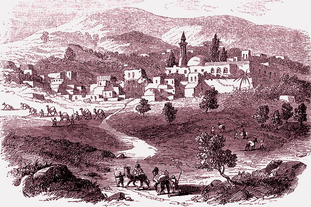<strong>Nazaré, cidade em que Jesus passou a infância e onde talvez tenha nascido.</strong>