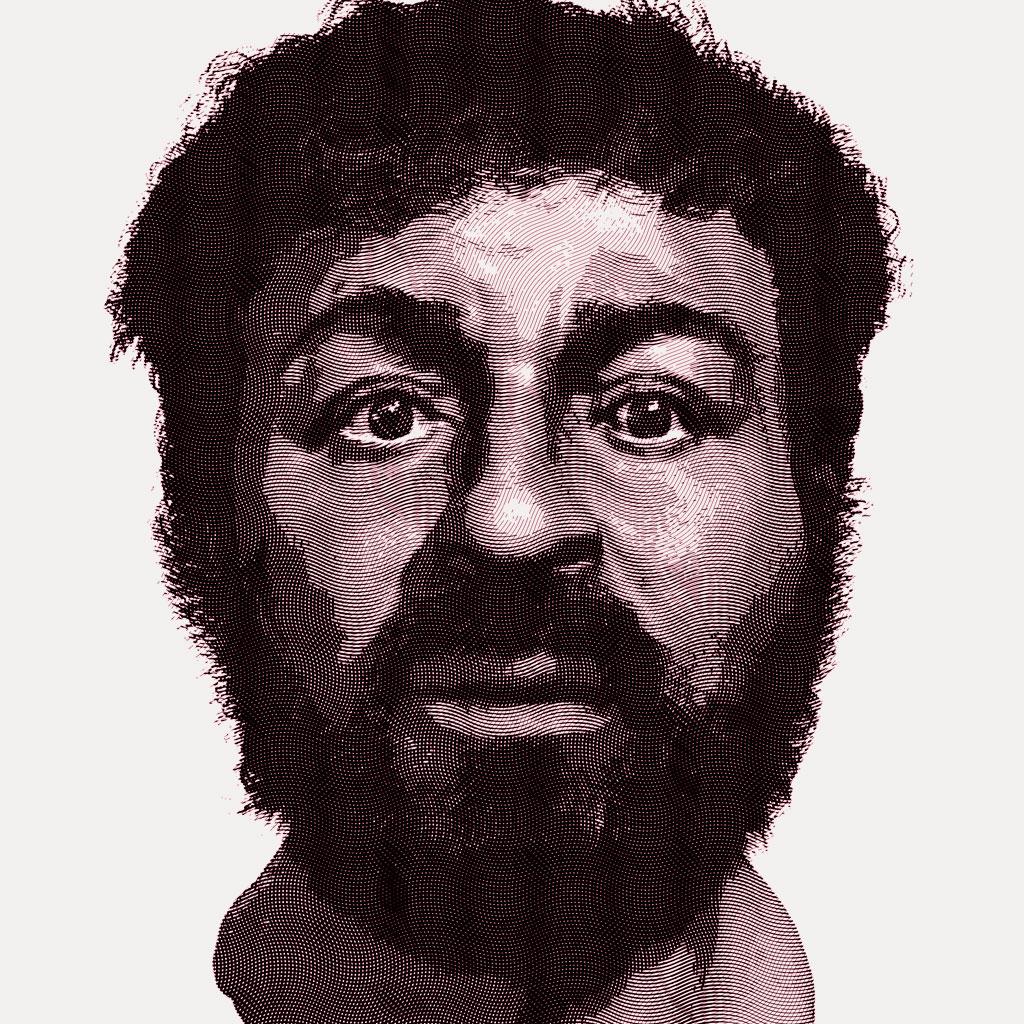 <strong>Imagem reconstruída de Jesus com traços típicos de povos do Oriente Médio.</strong>